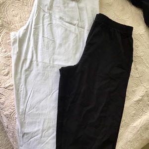 2 pairs of Bermuda pants